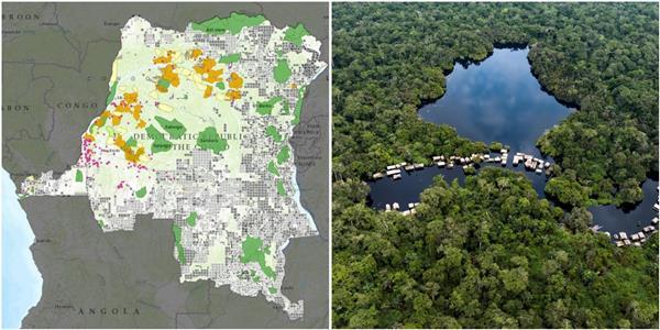 Tourisme en RDC (1) : le pays est un réservoir formidable de faune et flore avec ses neufs parcs touristiques naturels (CongoForum)
