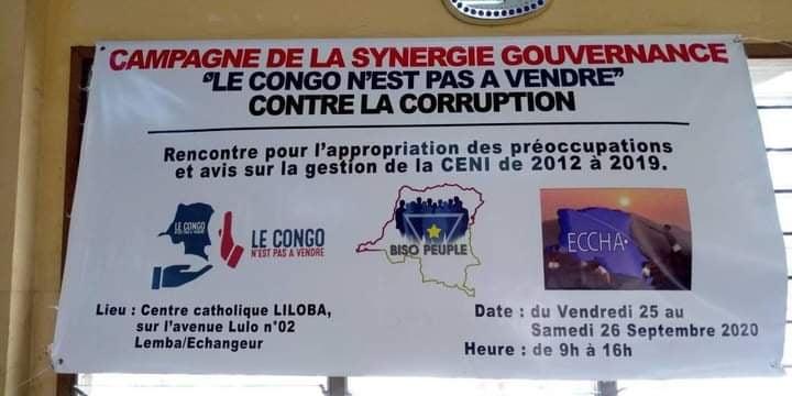 Lutte contre la corruption : la société civile et les mouvements citoyens en campagne pour soutenir l'audit de la Commission électorale nationale indépendante (CongoForum)