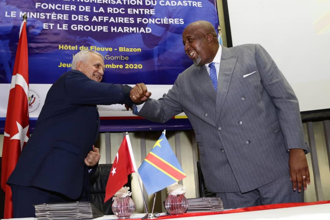 La numérisation du cadastre foncier va bientôt connaitre un essor en République Démocratique du Congo (CongoForum)