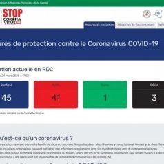 Website-corona-RDC